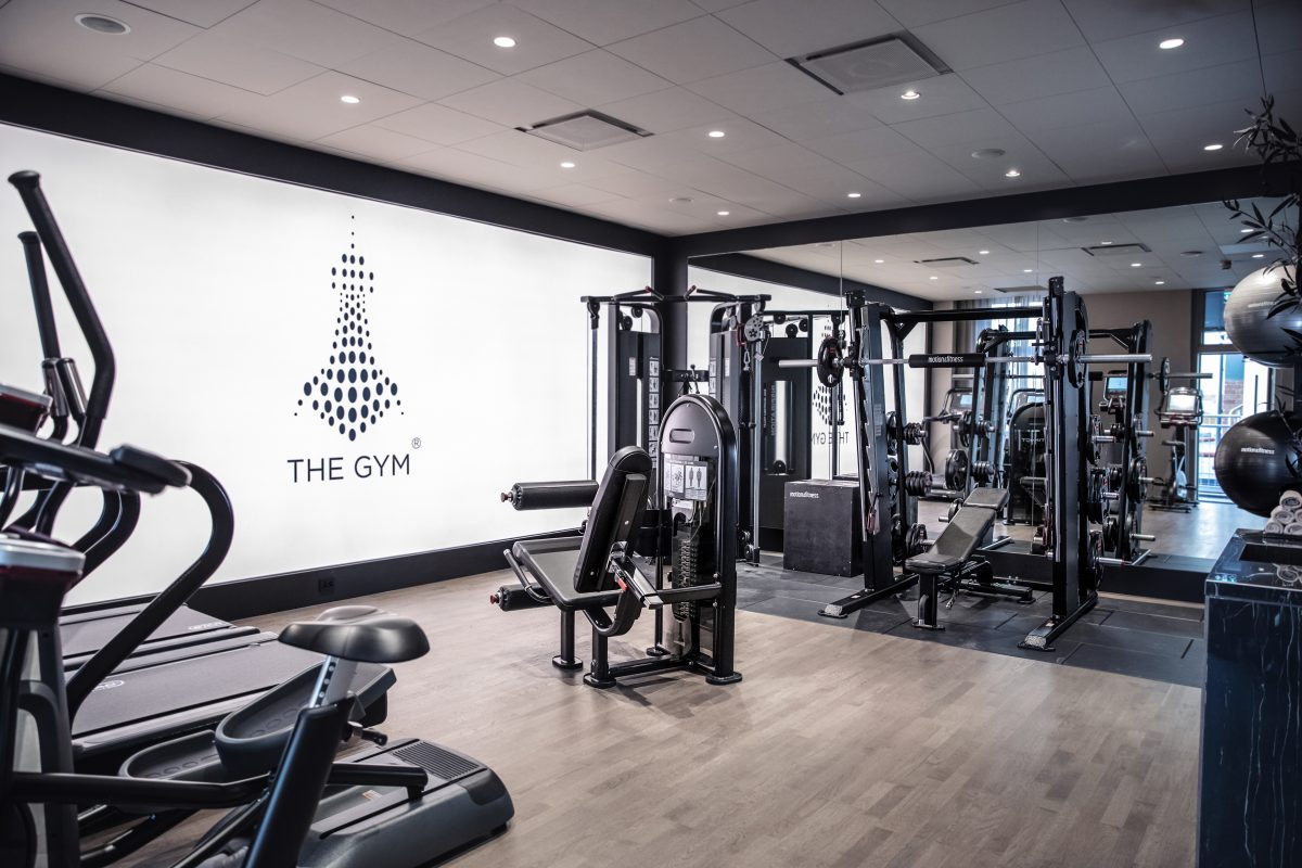 The lamp hotel gym